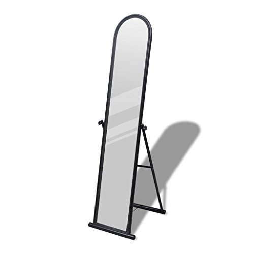 vidaXL Standspiegel Spiegel Ankleidespiegel Ganzkörperspiegel