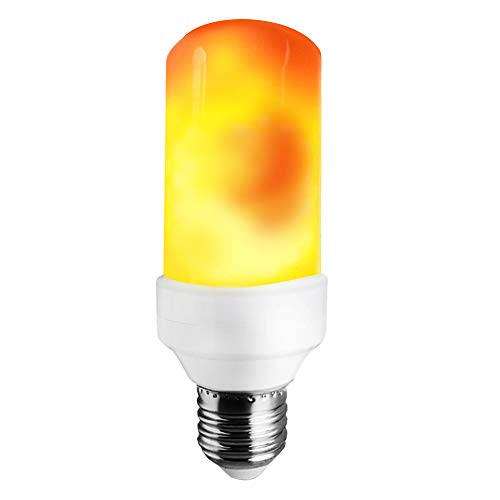 LAKES LED Flame Bulb, 1300K True Fire Color, Pack of 1 Unit ()