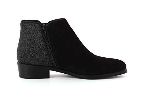 Kanna Bottines Femme En Chaussures Nola Noir Daim rEqTrw7