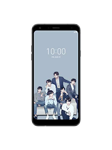 LG Electronics LG Q7+ Limited Edition BTS Factory Unlocked Smartphone - Black (U.S. Warranty)