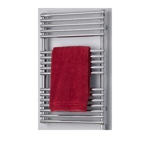 "Chrome Plated Hydronic Towel Radiator 31.5"" x 19.7"" x 1.2"" With Accessories"
