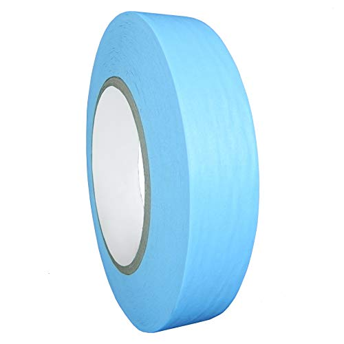 - WOD CFB-60 Console Artist Tape Light Blue - Flatback Paper Marking/Labeling Tape Residue Free - Acid Free (Available in Multiple Sizes & Colors): 3/8 in. X 60 Yds (Pack of 1)