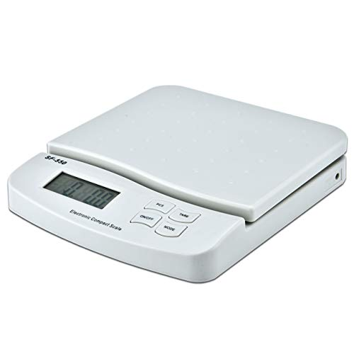 Function Package - Horizon SF-550 V2 55 LB x 0.1 OZ Digital Postal Shipping Scale with Counting Function