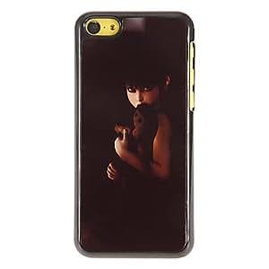 Ghastful Mujer Santo Patr¨®n Hard Case PC con 3 Almuerzos Protectores HD de pantalla para iPhone 5C