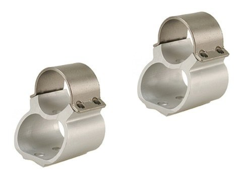 Weaver 1-Inch Steel Lock Mounts for Ruger 10/22 (Stainless Steel Scopes)