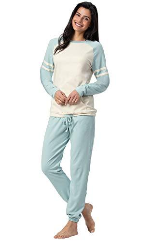 (Addison Meadow Cute Pajamas for Women - Pajama Set, Funday, Aqua, XS, 2-4)