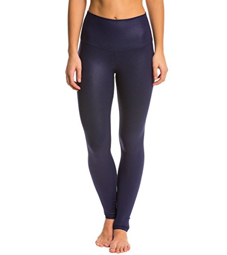 4a61ecb56ffa1c Alo Yoga Womens High-Waist Airbrush Legging - Solid (Rich Navy Glossy,XS) -  Buy Online in Oman. | Apparel Products in Oman - See Prices, Reviews and  Free ...