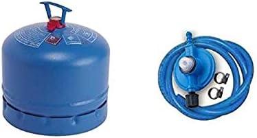 Bombona completa Campinga, art. 904 con 1,80 kg de gas + kit regulador original Campinga.