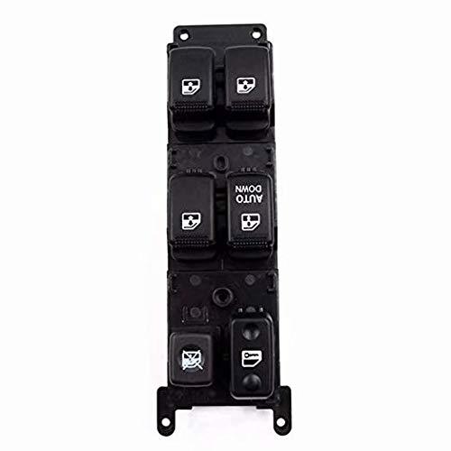 EMIAOTO Front Left Power Window Master Switch OEM# 93570-1G110 for KIA Rio Rio Hybrid 2006-2010