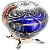 CoolerMaster CPUFAN アルミ製円方状ヒートシンク、3本のヒートパイプ RR-CCX-W9U2-GP