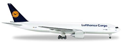 HE524292-002 Herpa 500 Scale Lufthansa Cargo (Germany) 777-200f Model Airplane