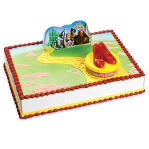 Tremendous Wizard Of Oz Ruby Red Slippers Birthday Cake Decorating Kit Funny Birthday Cards Online Bapapcheapnameinfo