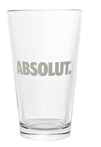 Absolut Cocktail Shaker Pint Glass 16 oz
