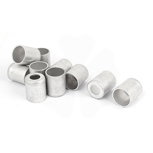 Car 14mm Hole Dia Air Conditioner Pipe Joint Fitting Sleeve 10pcs by Unoopler