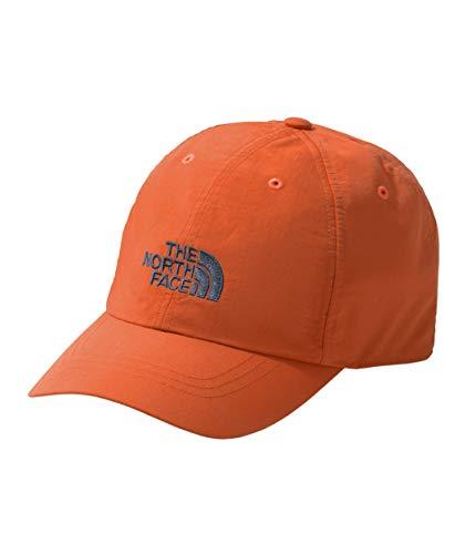 - The North Face Unisex Horizon Ball Cap Zion Orange/Shady Blue LG/XL