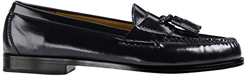 Cole Haan Men's Pinch Tassel Loafer, Burgundy, 7.5 D US