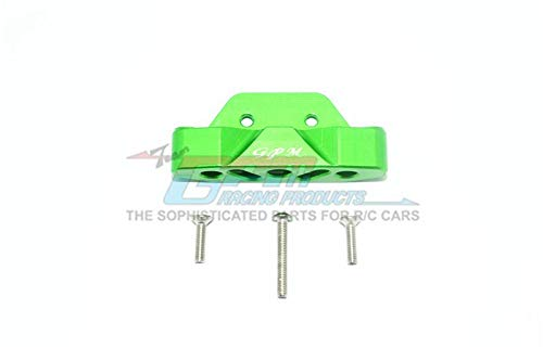 Traxxas Rustler 4X4 VXL (67076-4) Upgrade Parts Aluminum Rear Lower Suspension Mount - 1Pc Set Green ()