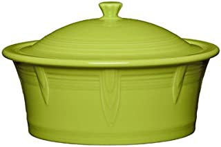 product image for Homer Laughlin Covered Casserole, Lemongrass
