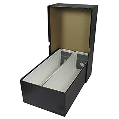 "Heavy Duty 10"" Double Row Box for Slab Coin Holders: Toys & Games"