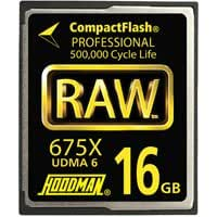Hoodman RAW6-CF16GBRAW 16GB CompactFlash Card 675X