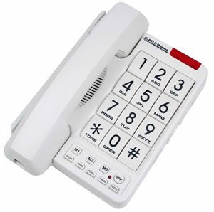 Northwestern Bell MB2060-1 Big Button Phone White (Telephone Big Numbers compare prices)