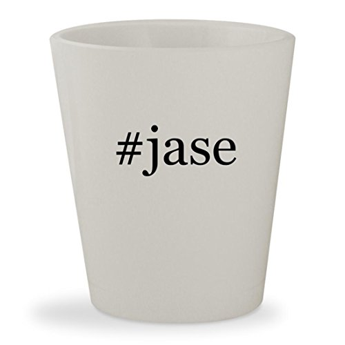 #jase - White Hashtag Ceramic 1.5oz Shot - Sunglasses Jase