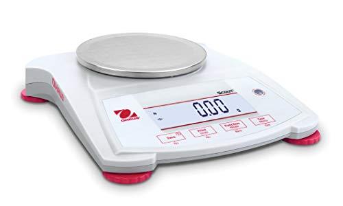 Ohaus SPX222 Scout Analytical Balance, 220 g x 0.01 g