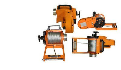 Streamline Industrial WINCH - Chainsaw Mounted - 4000 Lb Cap - Includes 150 Ft of 3/16' Cable