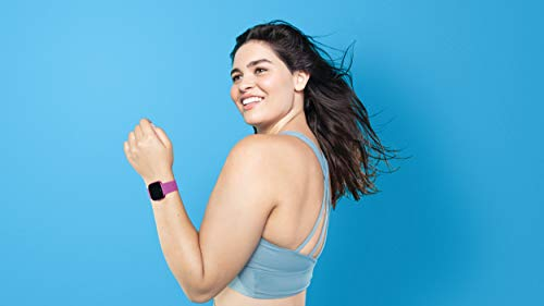 Fitbit Versa Lite Edition Smart Watch, One Size (S & L bands included), 1 Count by Fitbit (Image #4)