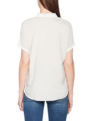 Blusa Blouse White whisper Blanco With Basic Tailor Collar Mujer Para Tom EUqOXwn