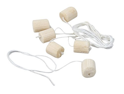 (Delta Education Natural Pith Ball with String, 1/3