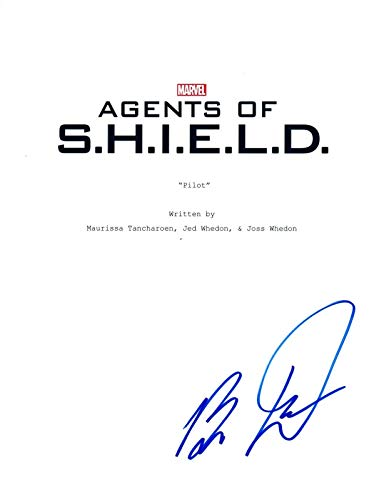 Brett Dalton Signed Autographed AGENTS OF SHIELD Pilot Script COA