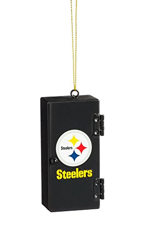 Team Sports America Pittsburgh Steelers Team Locker Ornament]()
