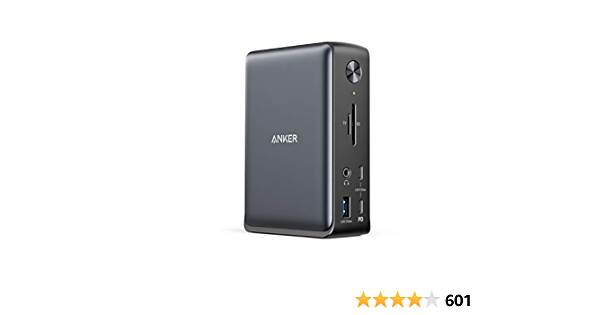 Anker Docking Station, PowerExpand 13-in-1 USB-C Dock for USB-C Laptops, 85W Charging for Laptop, 18W Charging for Phone, 4K HDMI, 1Gbps Ethernet, Audio, USB-A Gen 1, USB-C Gen 2, SD 3.0
