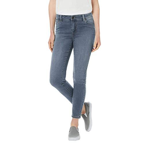 BUFFALO Ladies' Aubrey Stretch Ankle Grazer Jeans (12/32, Blue)