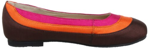 Lise Lindvig Womens DEE Ballet Flats Multi-coloured - Mehrfarbig (Brown, Orange, Pink 45)