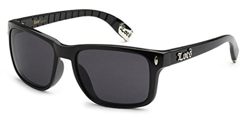 Locs Original Gangsta Shades Metal Tips Wayfarer - Sunglasses Locs Australia
