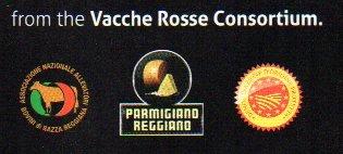 Parmigiano Reggiano PDO''VACCHE ROSSE/RED COWS'' seasoned 24/30 months, 2.2 lbs by Parmigiano Reggiano PDO Vacche Rosse (Image #7)