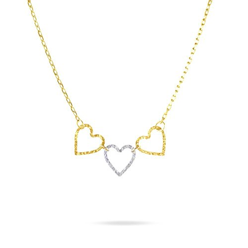 HISTOIRE D'OR - Collier Or - Femme - Or 2 couleurs 375/1000