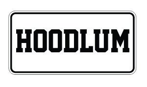 (3) hoodlum Funny Hard Hat / Helmet Stickers