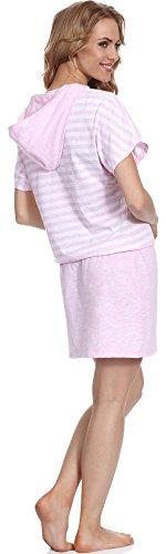 Merry Rosa Amaranth Style MS10 Camicia Donna 105 da Notte rnrw0q7UC