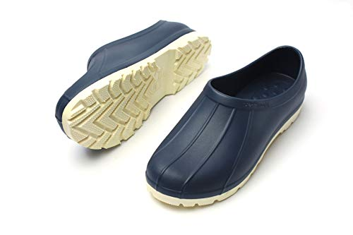 Mens Kitchen Chef Shoes Non-Slip Comfort Clogs Water-Proof Indoor Outdoor Farm Hospital Restraunt Fishing Serving (250mm / US 7) - Equipment Restraunt