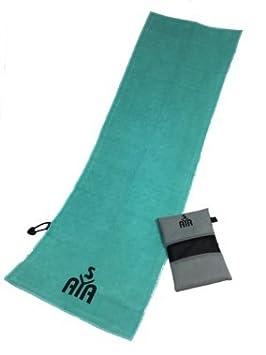 YISAMA Toalla para Gimnasio de Microfibra. Se usa en Tenis y Golf. Color Aguamarina: Amazon.es: Deportes y aire libre