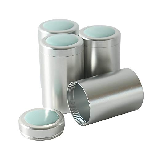 - Tea Tins with Airtight Ceramic Lids Canister set of 4 Home Kitchen Canisters for Tea Coffee Sugar Storage Loose Leaf Tea Tin Containers Storage