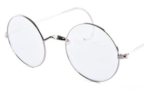 b9a99cf7f9a Agstum Retro Round Optical Rare Wire Rim Eyeglass Frame 49mm ...