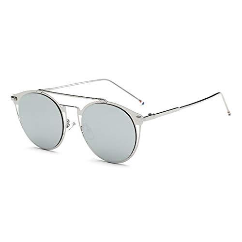 F KOMNY with Sunglasses F Sol Thom de Marca Gafas Masculina Brand de Gafas Sol de Designer Lujo de Colorfull Browne Vintage Women Metal Fashion Box RnSqgrwR