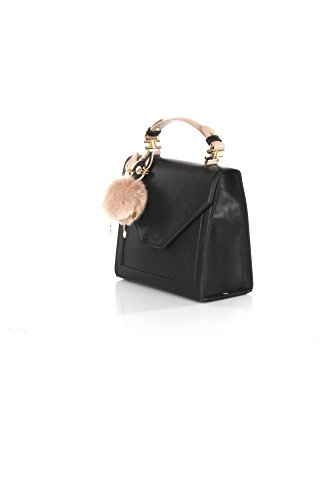 Borsa Accessori Elisabetta Franchi TU Nero Bs12a82e2 Primavera Estate 2018   Amazon.it  Abbigliamento 7bced4dd2cb