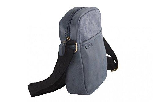 multicompartimientos bandolera CARRERA bolsa azul hombre Bandolera qHX1Tw