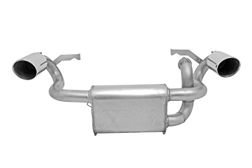 (Gibson 98023 Stainless Dual Exhaust System)
