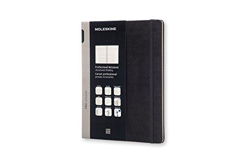 Moleskine Pro Hard Cover Notebook, Professional, XL (7.5